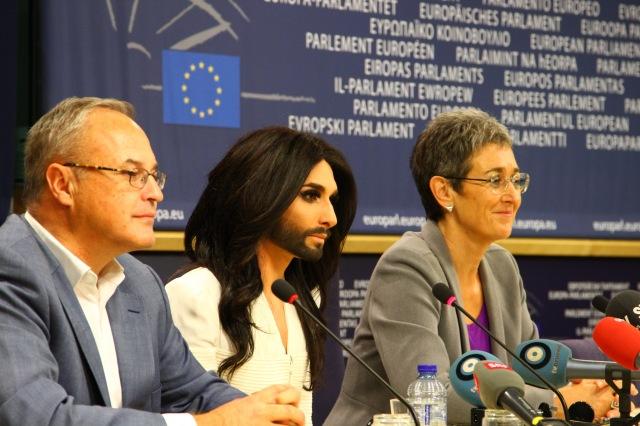 Parlamento Europeu Conchita Wurst