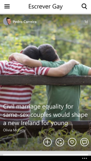 Escrever Gay Flipboard Mag WP