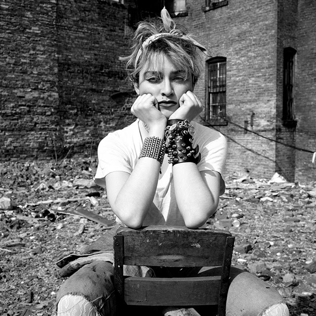 Beautiful Photographs of Madonna in New York City 1982 (10)