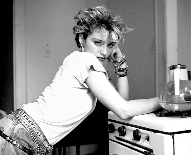 madonna exhibit hero vintage