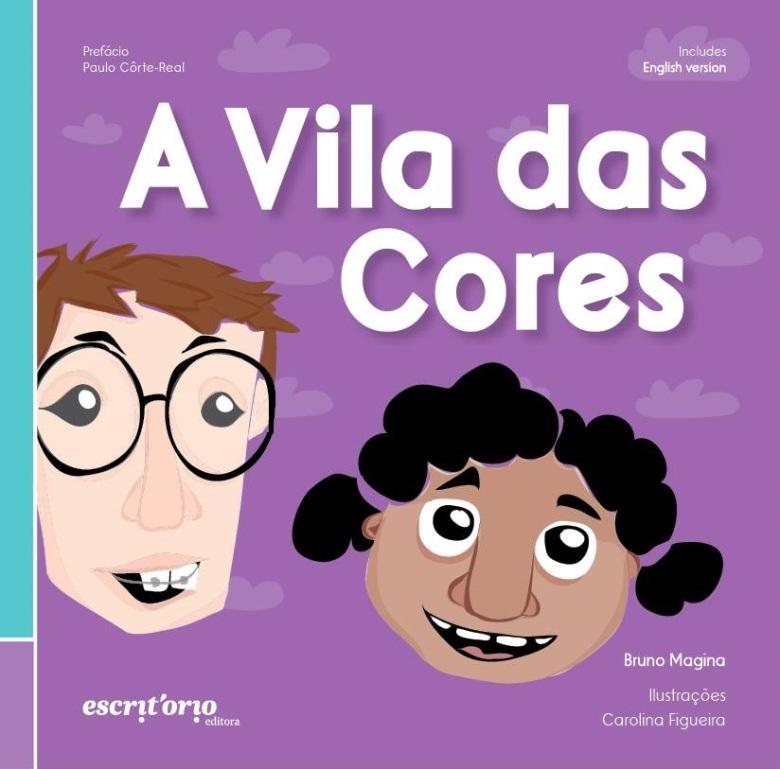 capa livro a vila das cores família lgbt