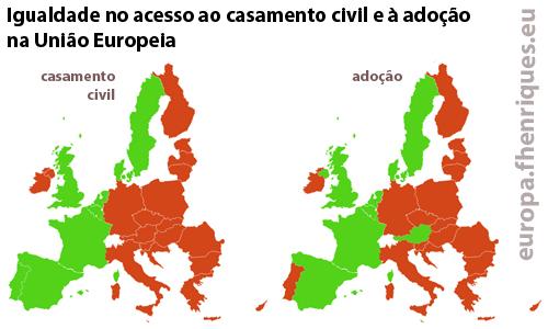 igualdade no acesso ao casamento civil eà adoção na união europeia