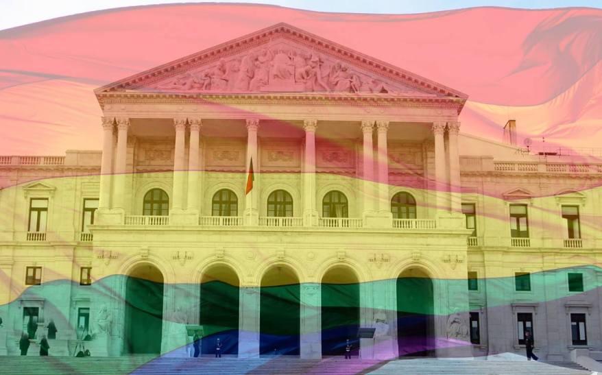 embaixada eua portugal pride lgbt assembleia da república rainbow flag