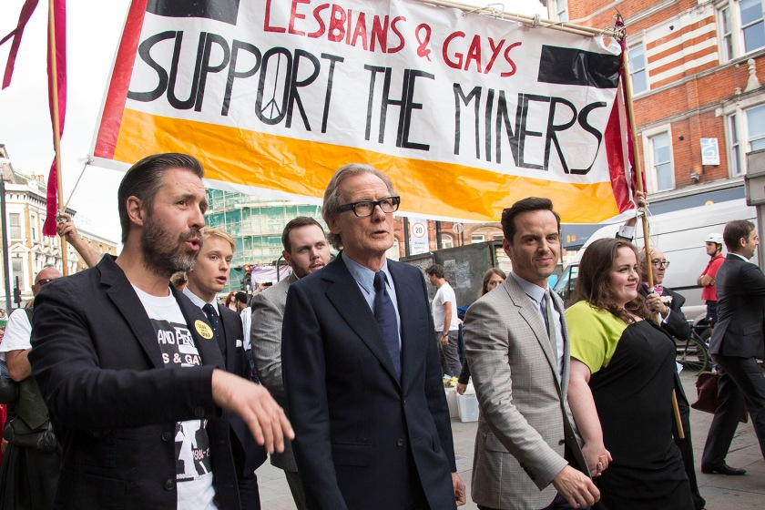 Bill Nighly, Andrew Scott, Paddy Considine Orgulho LGBT filme cinema