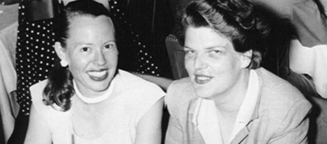 Del Martin & Phyllis Lyon lgbt couple casal