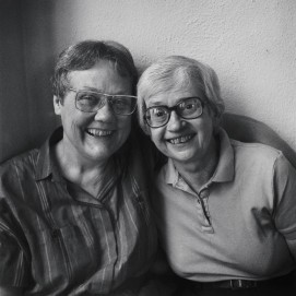 Particular Voices Barbara Gittings and Kay Tobin Lahusen, 1991 lgbt couple casal