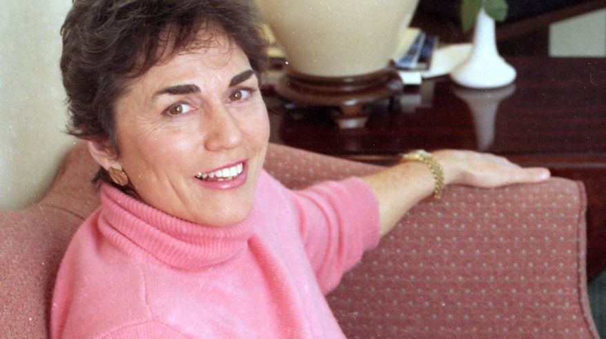 """Best-selling author Rita Mae Brown, pictured here in 1993, is know for her """"Sister"""" Jane and Mrs. Murphy mystery series."""