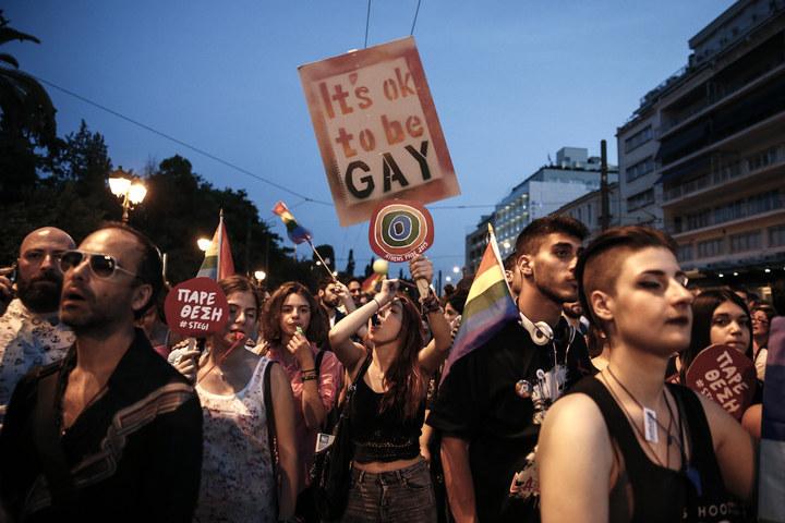 gay pride grécia atenas lgbt homofobia
