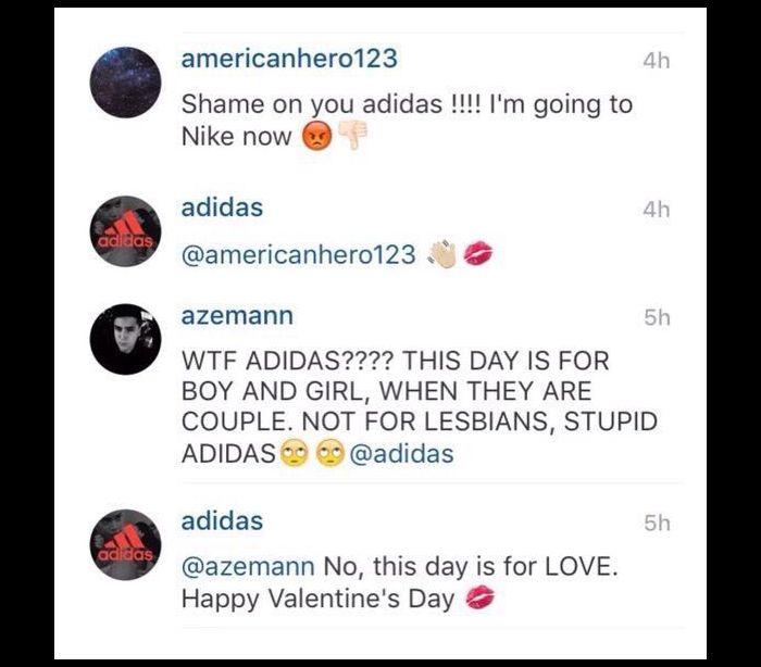 adidas homofobia LGBT