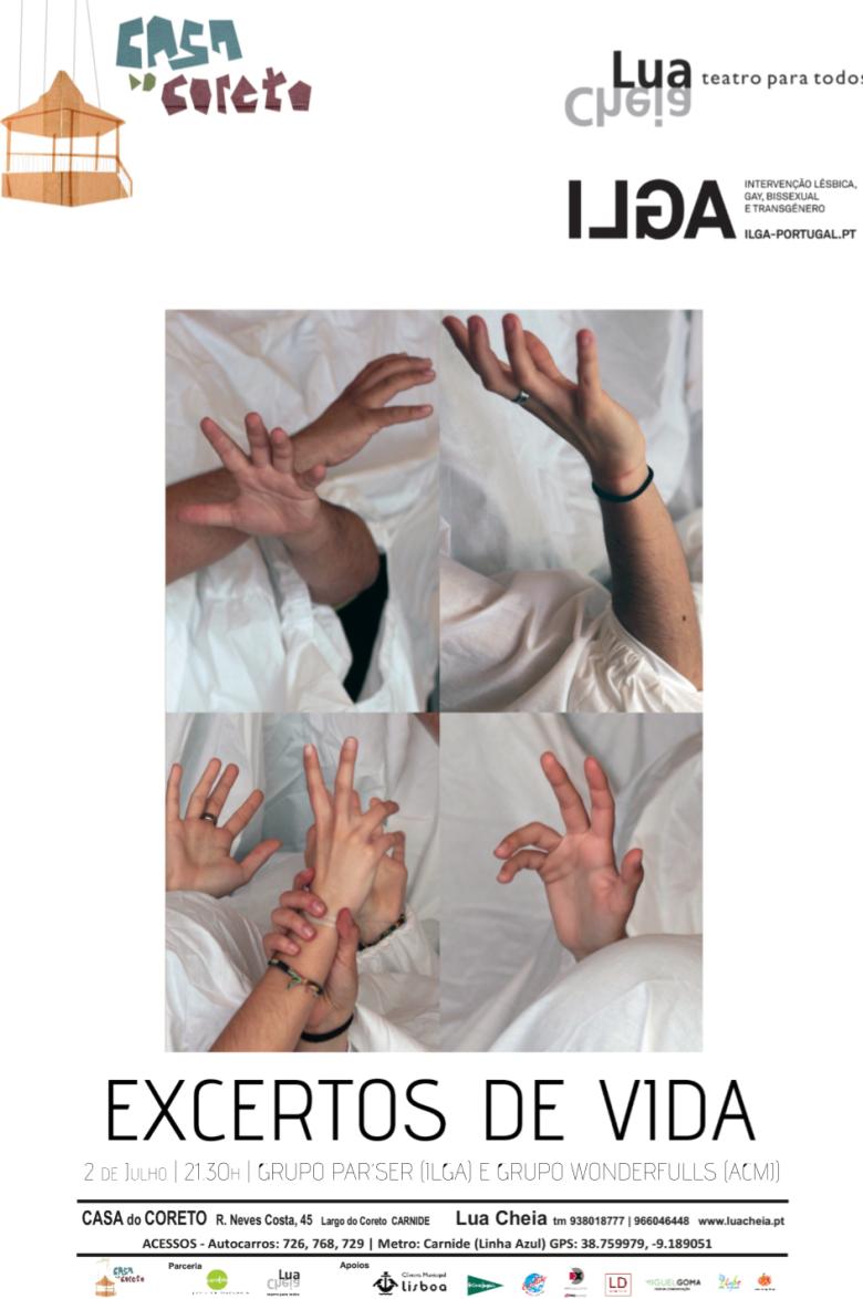 3 cartaz excertos de vida teatro ILGA