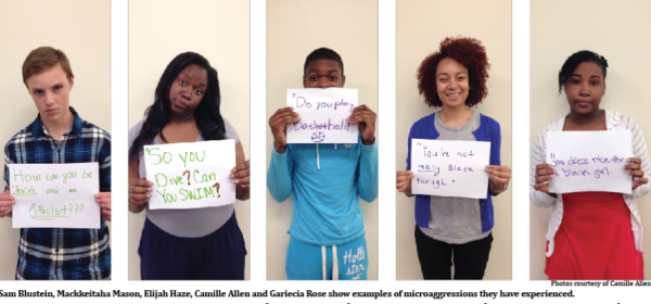 Y.O.U. students compile stories about microaggression
