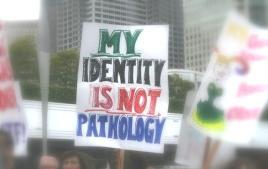 A minha identidade não é uma patologia