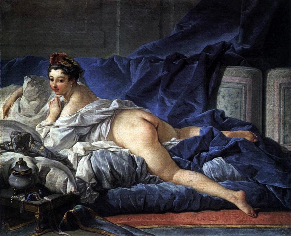 A Odalisca Morena (1745)