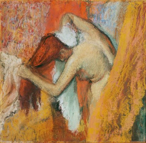 Degas: Femme À Sa Toilette (1900-1905)