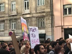Protesto Contra campos de concentração homossexuais Chechénia