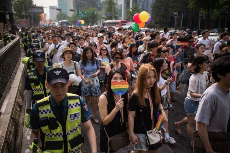 Coreia do sul homofobia LGBTI