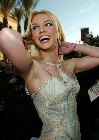 Axilas Naturais (Britney Spears)