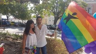 Marcha Orgulho LGBT Lisboa 2017 bloco de esquerda
