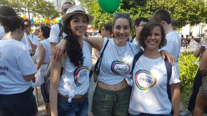 Marcha Orgulho LGBT Lisboa 2017 BPN Paribas