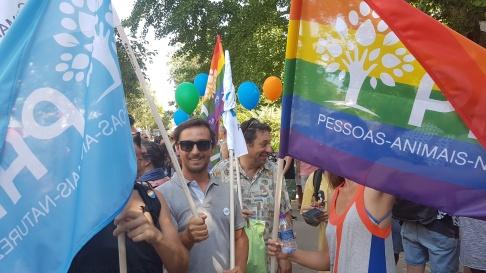Marcha Orgulho LGBT Lisboa 2017 PAN