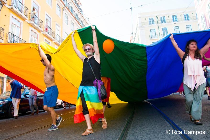 Rita Campos Marcha do Orgulho LGBT de Lisboa 2017 6