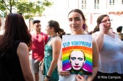 Rita Campos Marcha do Orgulho LGBT de Lisboa 2017 7
