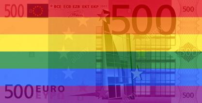 rainbow500euro pinkwashing pride orgulho