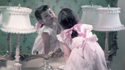 cor de rosa feminismo mulher menina