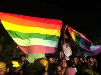 egito bandeira arco-íris homofobia rainbow flag concerto 2