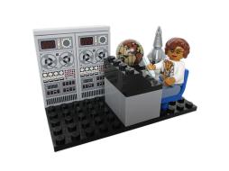 Katherine Johnson LEGO NASA