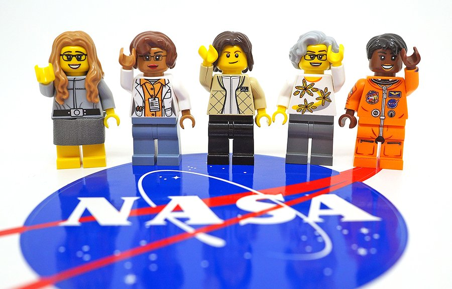 lego women nasa ciência educação feminismo mulheres