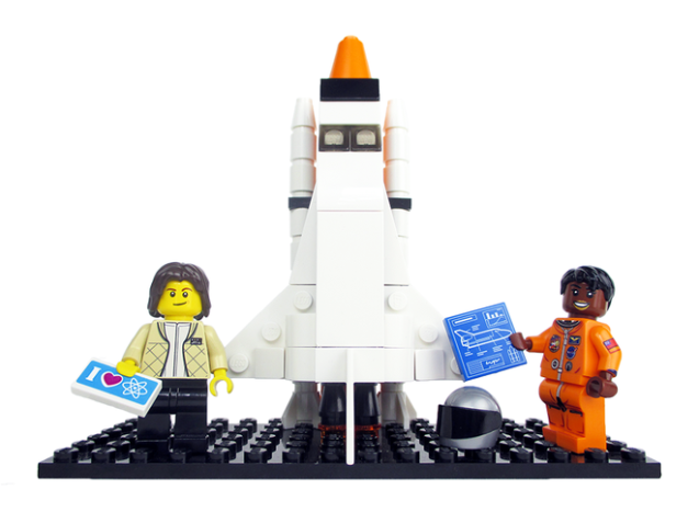 Sally Ride Mae Jemison LEGO NASA