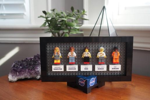 women nasa lego ciência feminismo