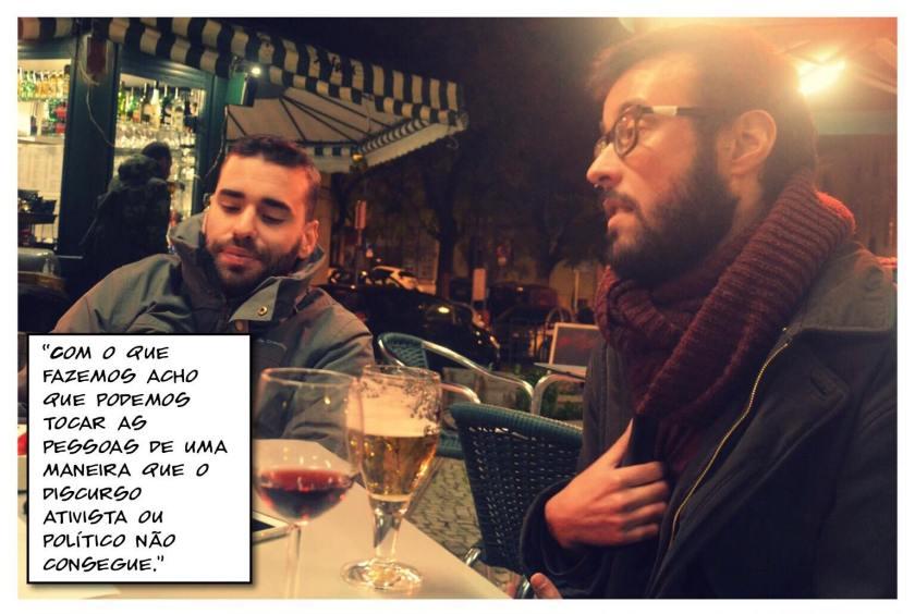 Fado Bicha entrevista esqrever LGBTI Portugal Cultura quote 1