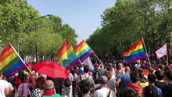 Marcha 25 de Abril Avenida da Liberdade Lisboa 2018