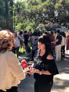 Deputada Sandra Cunha na Marcha do Orgulho LGBTI de Lisboa