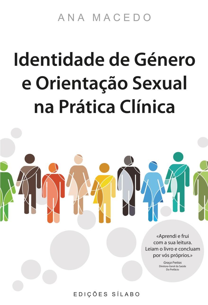 livro Identidade de Género e Orientação sexual na prática clínica de Ana Macedo capa
