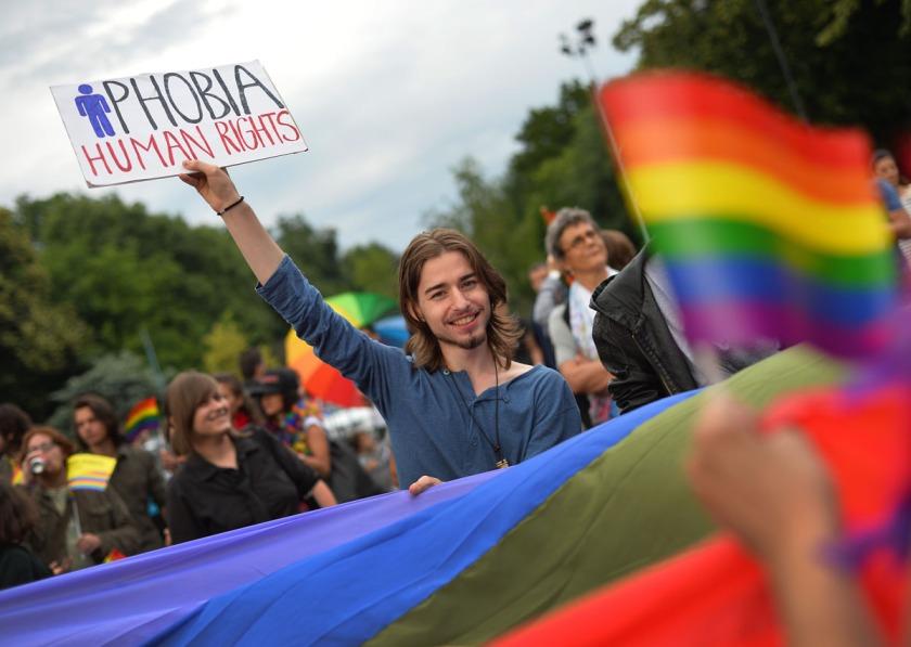 ROMANIA-GAY-RIGHTS Lgbti