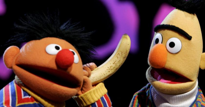 bert and ernie egas e becas rua sésamo crianças orientação sexual identidade televisão