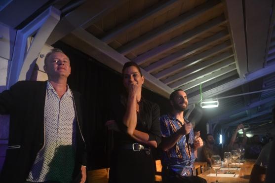 Juri Miss Drag Lisboa 2018: Stephan Elliott, Sofia Aparício, Manuel Moreira