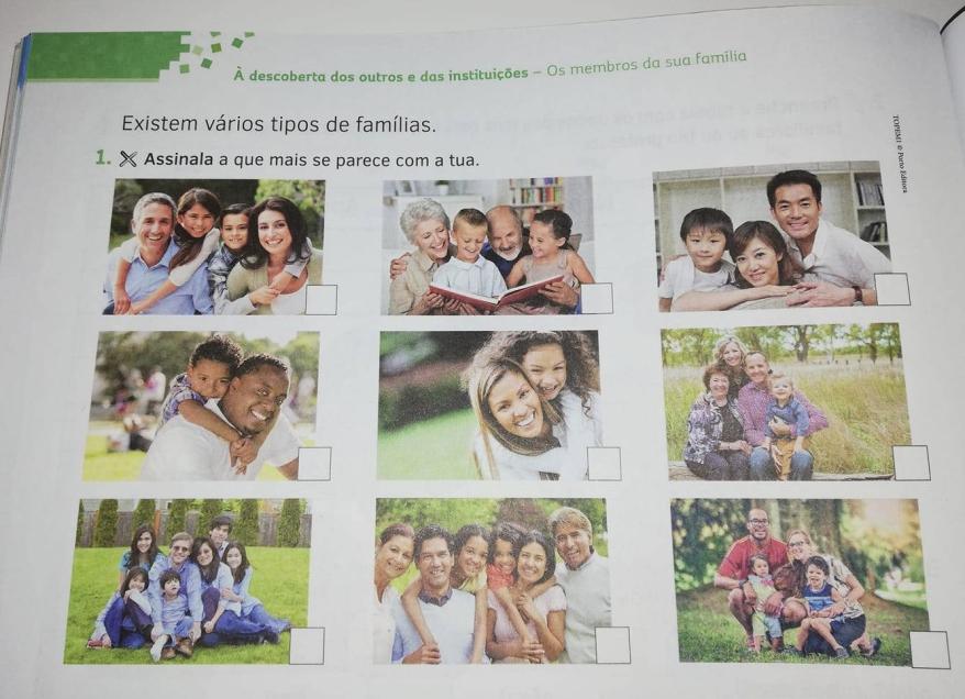 Estudo do meio famílias portugal educação