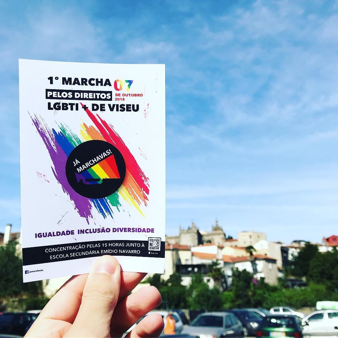 Viseu Marcha pela liberdade no amor e autodeterminação de género