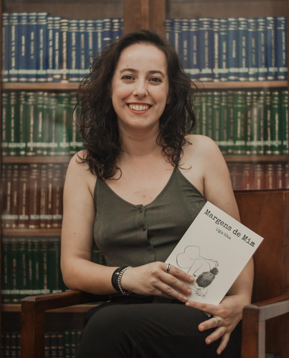 """Lígia Silva lança Margens de Mim: """"Este livro foi o meu maior grito de liberdade!"""""""